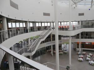 Модерната нова сграда на университета на рейкявик
