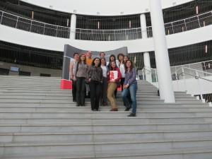Участниците в обучението в Университета на Рейкявик